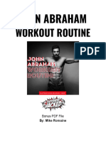 John-Abraham-Workout-Routine-PDF
