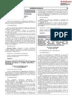 Decreto Supremo Nº 005-2020-EM