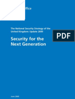 2009.06 CAB OFFICE National Security Strategy UPDATE