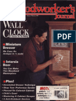 Woodworker's Journal – January/February 1995