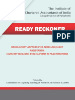 Articleship Reckoner
