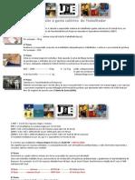 Cálculo de Gasto Calórico do Trabalhador