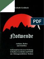 Grolitsch,Lisbeth Notwende Aufsatze Und Schriften (2002, 3