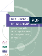 Agenda Fiscal de OSC