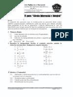 Guía para el ETS de Cálculo Diferencial e Integral