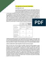 Lecturas y ejercicios -practicar-en Economía Colombiana