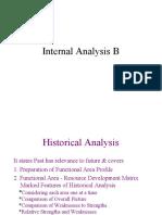 SM 9 - Internal Analysis B