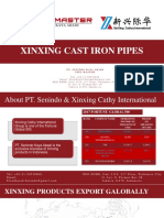 XINXING CAST IRON PIPE CATALOG