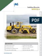 Specificatie tehnica Bomag-MPH-122-2