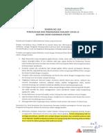 Surat Edaran 018 - Penanganan Darurat COVID-19 Sahid Sudirman Center
