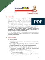 PROGRAMA DE ALIMENTAÇÃODO TRABALHADOR PAT AVALIAÇÃO