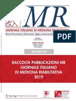 ESTRATTO MR Giornale Italiano Di Medicina Riabilitativa - 2019