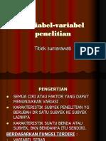 Variabel-variabel penelitian-p