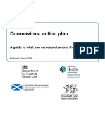 Coronavirus Action Plan - A Guide to What You Can Expect Across the UK