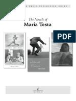 Maria Testa Disccussion Guide