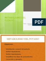 CLASE 12 - TRASTORNOS DEL POTASIO (1)