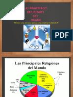 Principales religiones del Mundo