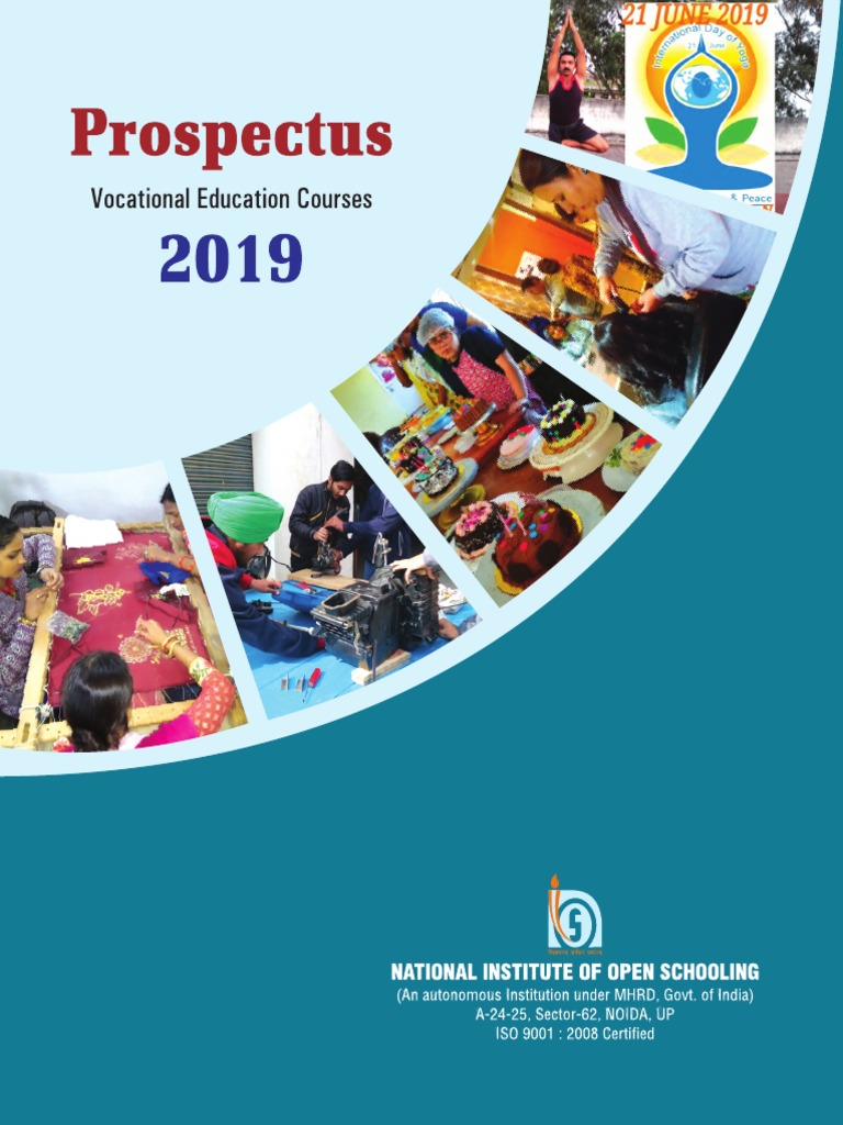 Final Vocational Prospectus 2019 Pdf Vocational Education University And College Admission