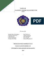 MAKALAH Management and Risk Rev Chyntia