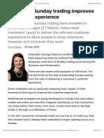 Extending Sunday trading improves customer experience – Marketing Week.pdf
