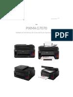 PIXMA - PIXMA G7070 - Canon India