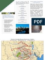 Bayou Greenway Initiative - Pamphlet - November 2010