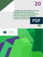 Sistemele de Informații Ale UE Care Sprijină Controlul La Frontiere