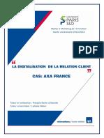 digital relation client axa