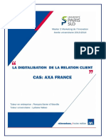 digital relation client axa
