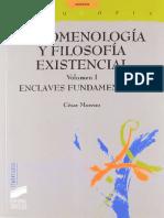 Fenomenología y Filosofía Existencial I.pdf