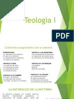 CLASE 1 Teología I