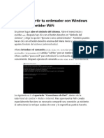 Cómo convertir tu ordenador con Windows 10 en un repetidor WiFi