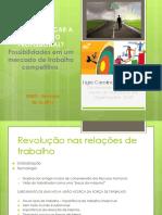 Palestra Realização Profissional e Carreira - UEMG