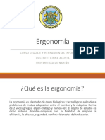 1 - 2 - 3 Ergonomía