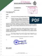OBSERVACIONES A GERENCIA SUB REGIONAL UTCUBAMBA