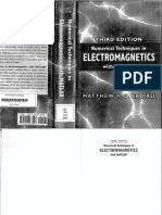 Numerical Techniques In Electromagnetics With Matlab Third Edition By Matthew N O Sadiku Z Lib Org Pdf
