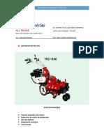 MOTOCULTOR TKC-450