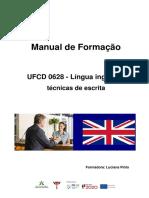 Manual 0628_Língua Inglesa técnicas de escrita