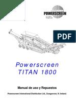Manual Criba Titan 1800 (Español).