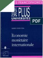 Economie Monétaire Internationale abc