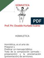 HOMILETICA I-II  2018