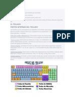 Las funciones del teclado se clasifican por sus teclas