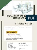UTILITAS PADA BANGUNAN BERTINGKAT-perhitungan.pdf.pdf