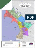 City Wards in Burlington