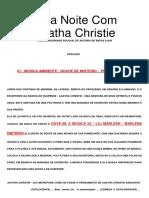 sated - Uma Noite Com Agatha Christie