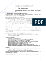 cours 7 Consonnes