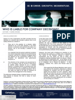 Who+is+Liable+for+Company+Decisions+-+SED+-+April+2016