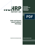 Lateral Load in Pile - NEHRP