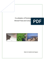 Co-Utilization of Rockdust, Mineral Fines and Compost