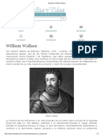 Biografia de William Wallace